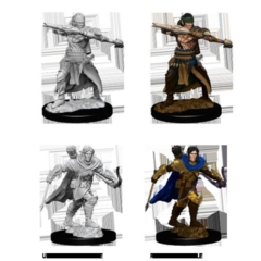 Deep Cuts Unpainted Miniatures - Male Half-Elf Ranger